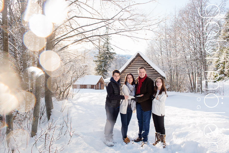 A white Whistler Christmas
